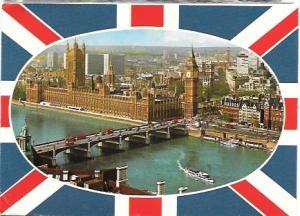 England.  Houses of Parliament, Westminster Bridge, Big Ben, London