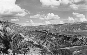 UT - Jensen. Dinosaur National Monument, Mouth of Split Mountain Gorge - RPPC