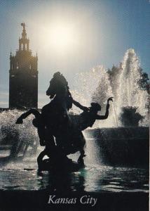 Missouri Kansas City J C Nichols Fountain & Giralda Tower Country Club Plaza