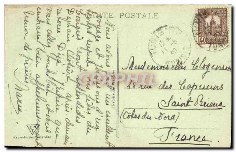 Old Postcard Tunis La Cathedrale