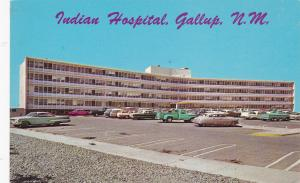GALLUP, New Mexico; Indian Hospital, Classic Cars, 40-60s