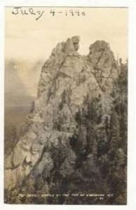 RP, Cheyenne Mountain, Devil's Horns, Colorado, 1940