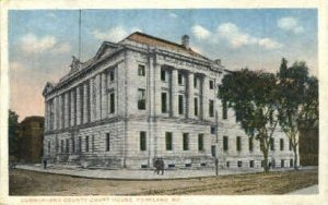 Cumberland County Court House in Portland, Maine