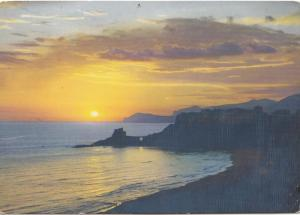 SPERLONGA, Tramonto, Sunset, used Postcard