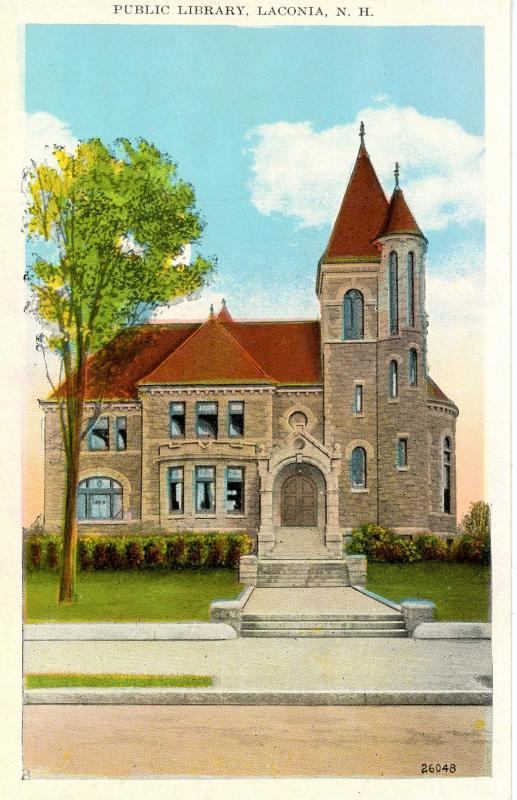 NH - Laconia. Public Library
