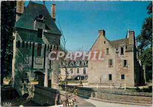 Postcard Modern Normandy Chateau fifteenth s Aerium Fervaques visits (Outside...