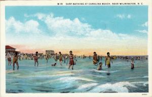 Surf-Bathing at Carolina Beach, near  Wilmington, North Carolina, 20-30s