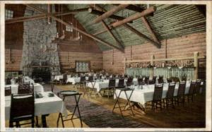 Yellowstone National Park Old Faitful Inn Dining Room Detroit Publishing PC