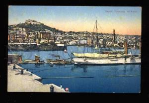 016324 ITALY LIGHTHOUSE Panorama of NAPOLI Vintage PC