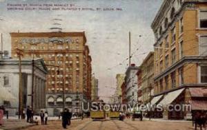 Fourth St., Court House St. Louis MO 1911