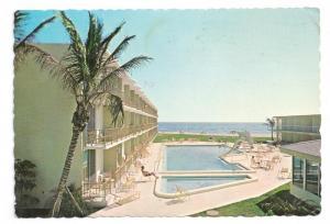 Hilton Singer Island Hotel Palm Beach Florida 4X6 1971 Pool