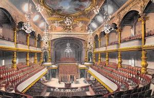 Switzerland Geneve Interieur du Victoria Hall interieur inner interior 1909 AK