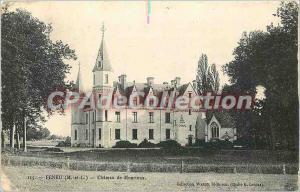 Postcard Old Feneu (M and L) Chateau de Monrioux