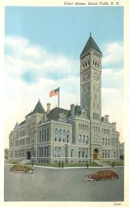 Court House at Sioux Falls SD, South Dakota