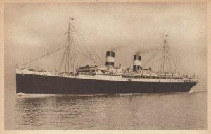 Ocean Liner M/V AUGUSTUS , Navigazione Generale Italiana , 1930s
