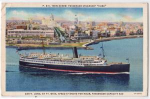 Steamer Cuba