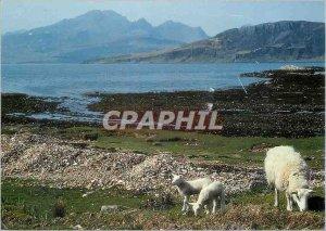 Modern Postcard Loch Eishort and Blaven From Ord Sleat Isle Of Skye