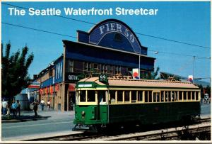 The Seattle Waterfront Electric Streetcar 1988