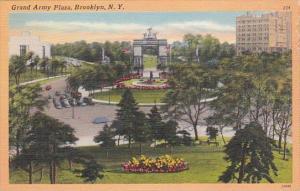 New York Brooklyn Grand Army Plaza