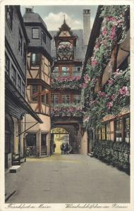 Frankfurt am Main 1930s Germany Wanebachhoschen im Romer
