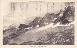 France Chamonix Mont Blanc Les Aiguilles