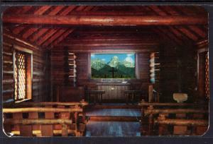 Interior of the Chapel of the Transfiguration at Moose,Jacksonhole,WY BIN