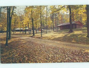 Pre-1980 CAMP SCENE Wooster Ohio OH AE3278