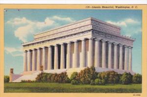 Washington D C Lincoln Memorial Curteich
