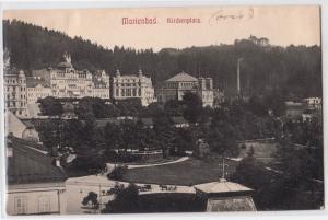 Marienbad. Kirchenplatz