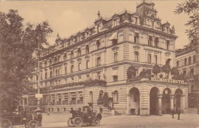 Germany Bremen Hillman's Hotel 1910