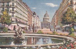 PARIS, France, 1900-10s ; Pantheon Et Place Medicis ; TUCK 933 P No 26