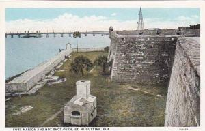 Florida Saint Augustine Fort Marion and Hot Shot Oven