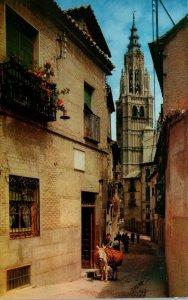 Spain Toledo Calle de Santa Isabel