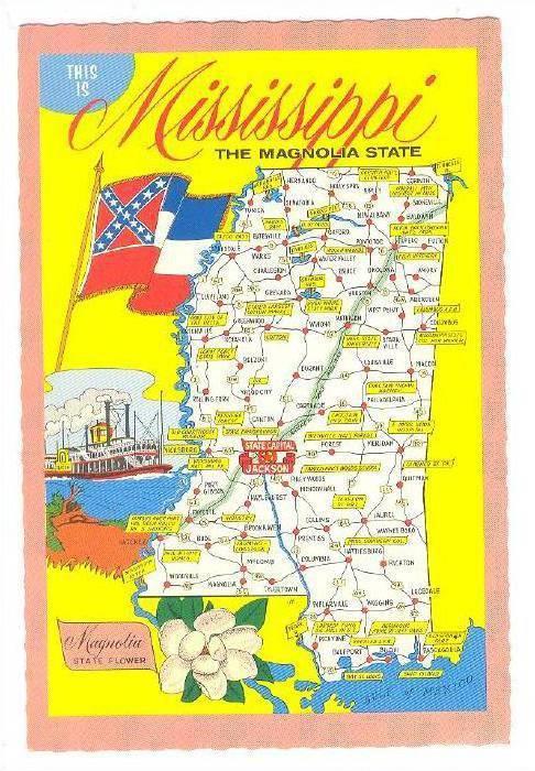 The Magnolia State, Mississippi,  40-60s