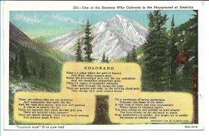 Colorado - The Playground of America - 1945