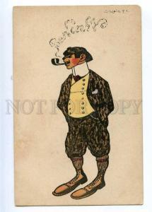 189480 Sherlock HOLMES Berliner by POLCIN Vintage ART NOUVEAU