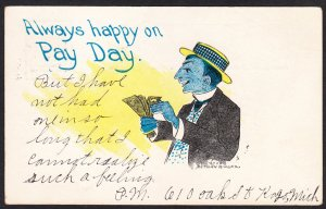 Payday - Nathan Ringer (signed) – 1909