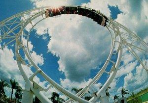 FL - Haines City. Ringling Bros & Barnum & Bailey Circus World, Daredevil Ride