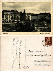 CPA AK CLUJ KOLOZSVÁR Mátyás-király tér ROMANIA (503315)