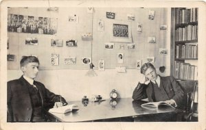 F99/ Decorah Iowa RPPC Postcard c1910 Luther College Dormitory Interior