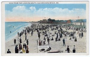 Old Orchard Beach, Me, View From Pier Looking South