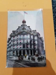 Antique Postcard, Post Office, New York