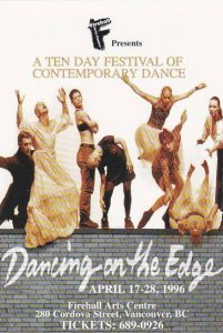 Dancing on the Edge Festival, Vancouver, British Columbia, Canada, 1996