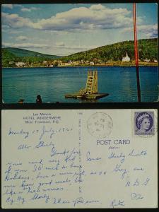 Hotel WindermereLac Mercier-Mont Tremblant Que 1961