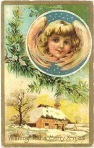 Angel,Christmas, PU-1909