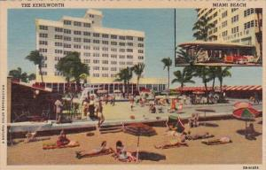 Florida Miami Beach The Kenilwworth Hotel 1960 Curteich