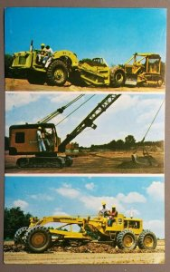National School of Heavy Equipment Operation, Charlotte, N.C. Postcard