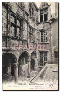 Postcard Old Orleans House of Agnes Sorel