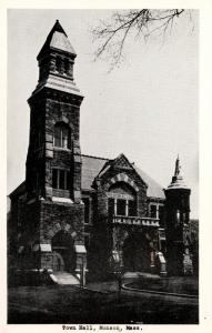MA - Monson. Town Hall