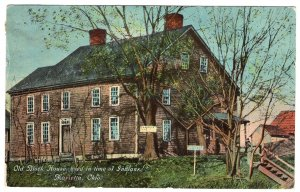 Marietta, Ohio, Old Block House, used in time of Indians